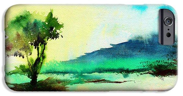 Dreamland IPhone Case by Anil Nene