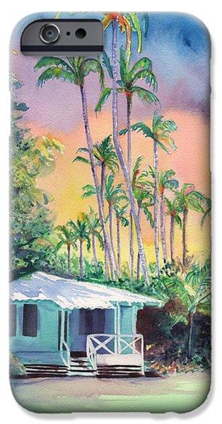 Dreams Of Kauai IPhone Case by Marionette Taboniar