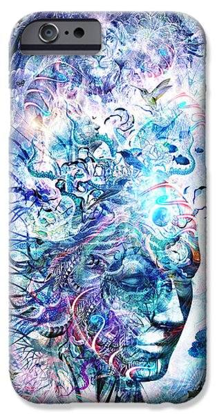 Dreams Of Unity IPhone Case by Cameron Gray