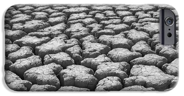 Dried Mud 9 IPhone Case by Mike McGlothlen