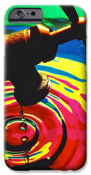 Faucet IPhone Case featuring the photograph Dripping Faucet by Garry Gay