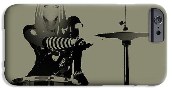 Drummer IPhone Case by Naxart Studio