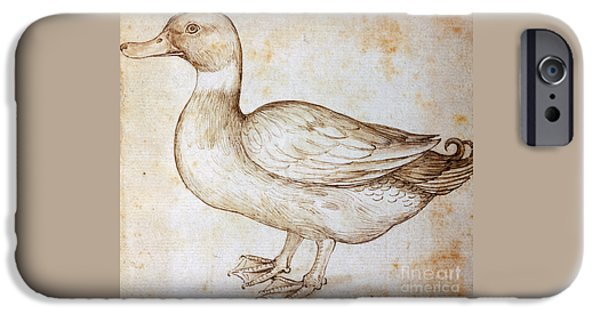 Duck IPhone 6s Case by Leonardo Da Vinci