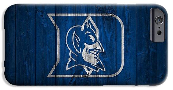 Duke Blue Devils Barn Door IPhone 6s Case by Dan Sproul