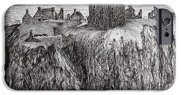 Dunottar Castle IPhone Case by Vincent Alexander Booth