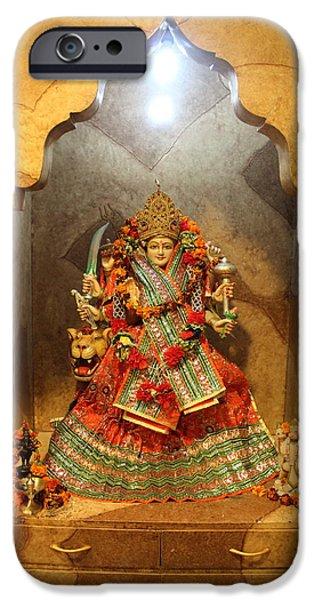 Durga, Ane Publishing, Delhi IPhone Case by Jennifer Mazzucco