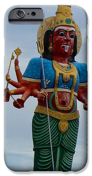 Durga On Route To Madurai IPhone Case by Jennifer Mazzucco