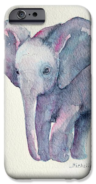 E Is For Elephant IPhone 6s Case by Richelle Siska