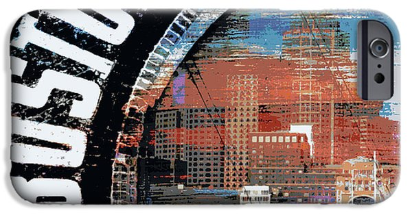 East Boston IPhone Case by Brandi Fitzgerald