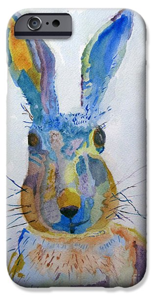 Easter Bunny IPhone Case by Sandy McIntire