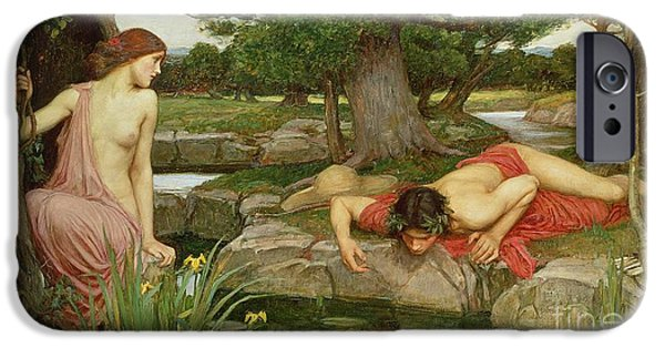 Echo And Narcissus IPhone Case by John William Waterhouse