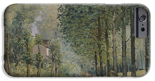 Edge Of The Wood IPhone Case by Alfred Sisley