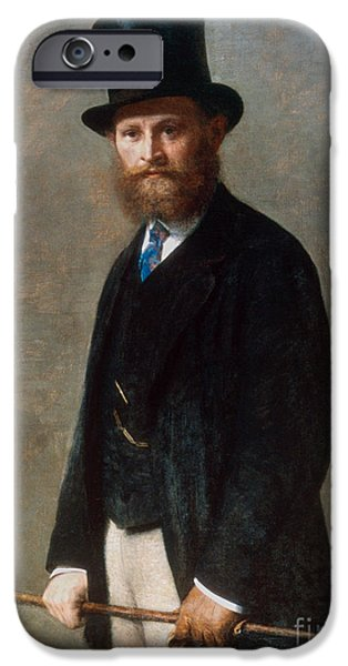 Edouard Manet (1832-1883) IPhone Case by Granger