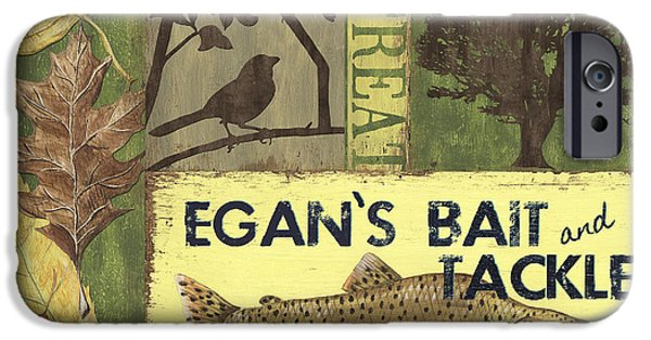 Egan's Bait And Tackle Lodge IPhone Case by Debbie DeWitt