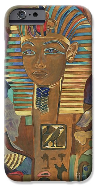 Egyptian Man IPhone Case by Debbie DeWitt