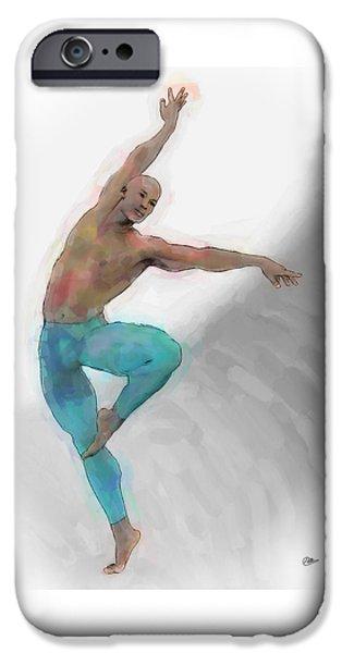 El Arte De La Danza IPhone Case by Quim Abella