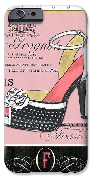 Elegant French Shoes 2 IPhone Case by Debbie DeWitt