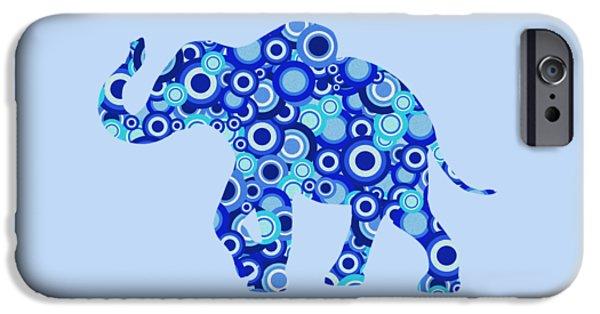 Elephant - Animal Art IPhone Case by Anastasiya Malakhova