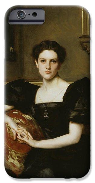 Elizabeth Winthrop Chanler IPhone Case by John Singer Sargent