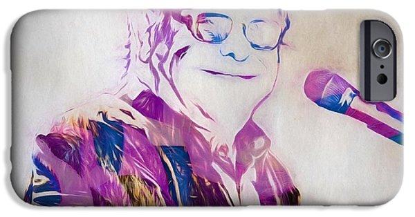 Elton John IPhone 6s Case by Dan Sproul