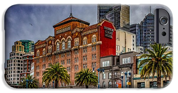 Embarcadero Street IPhone Case by Bill Gallagher