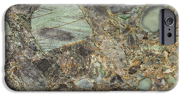 Emerald Green Granite IPhone 6s Case by Anthony Totah