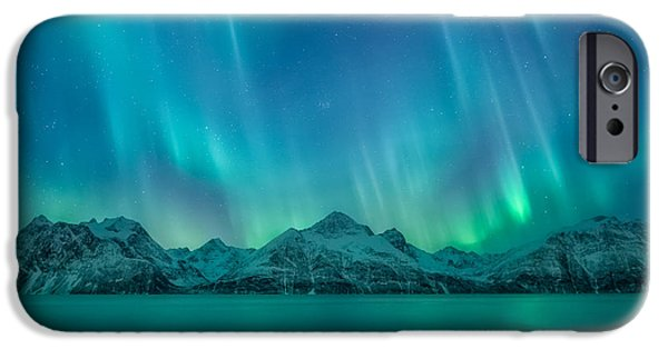 Emerald Sky IPhone Case by Tor-Ivar Naess