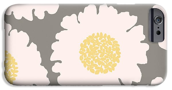 English Garden White Flower Pattern IPhone Case by Mindy Sommers
