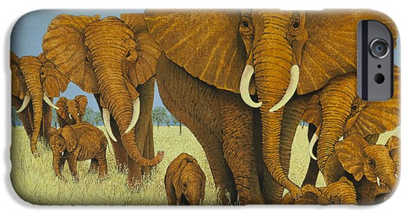 Enormous But Caring IPhone Case by Pat Scott