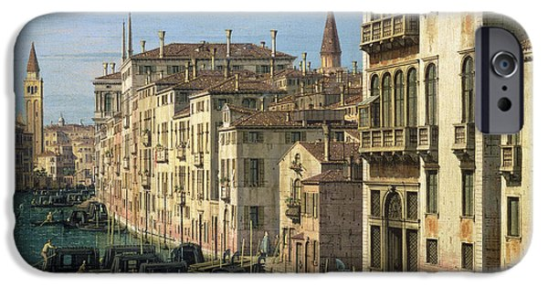 Entrance To The Grand Canal Looking West IPhone 6s Case by Canaletto