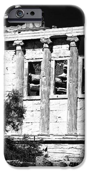 Erechtheum Columns IPhone Case by John Rizzuto