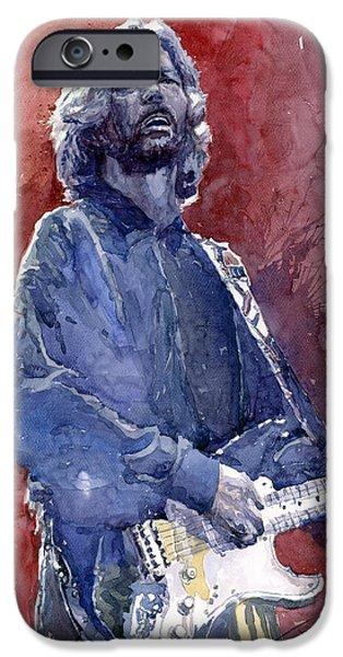 Eric Clapton 04 IPhone 6s Case by Yuriy  Shevchuk