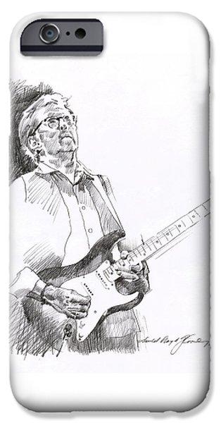 Eric Clapton Joy IPhone 6s Case by David Lloyd Glover