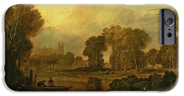 Eton College From The River IPhone Case by Joseph Mallord William Turner