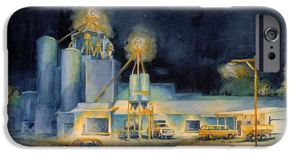 Evening At Lindner Feed And Mill IPhone Case by Virgil Carter