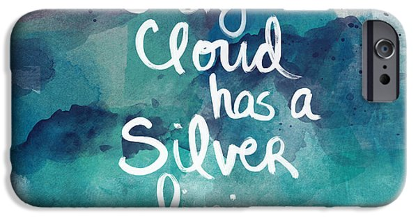 Every Cloud IPhone Case by Linda Woods