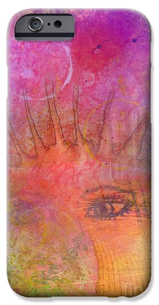Eyes To The Soul IPhone Case by Desiree Paquette
