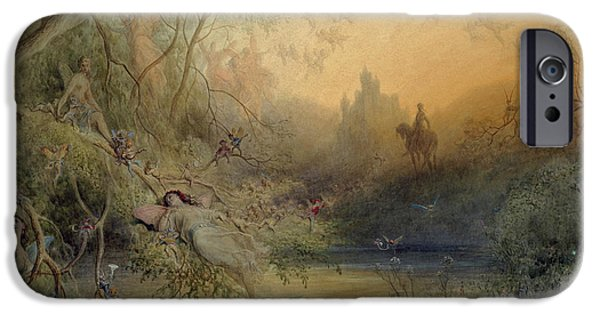 Fairy Land IPhone 6s Case by Gustave Dore