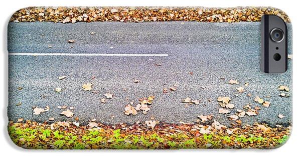 Fallen Leaves IPhone Case by Tom Gowanlock