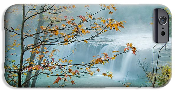 Falling Falls IPhone Case by Iris Greenwell