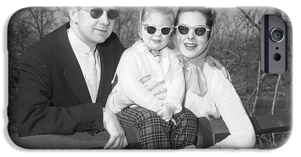 Family Portrait With Sunglasses, C.1950s IPhone Case by J. Rogers/ClassicStock