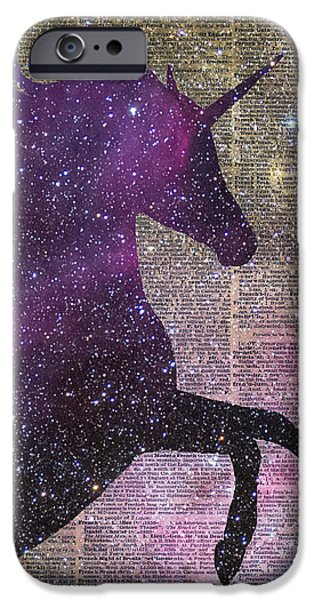 Fantasy Unicorn In The Space IPhone 6s Case by Jacob Kuch