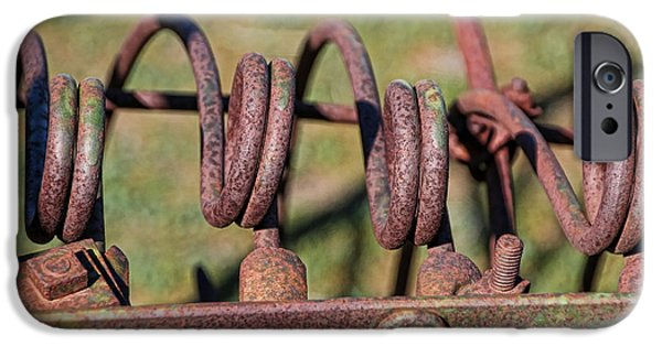 Farm Equipment 7 IPhone Case by Ely Arsha