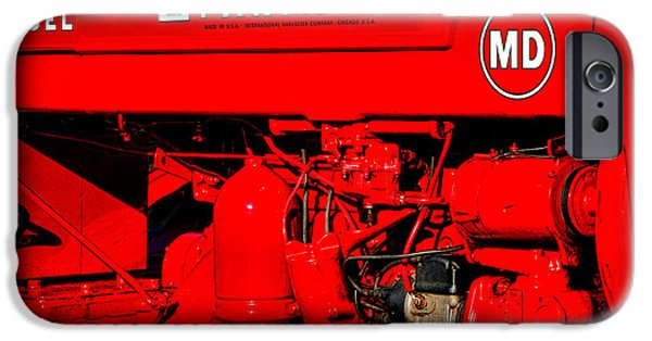 Farmall Md IPhone Case by Olivier Le Queinec