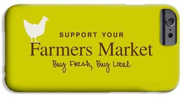 Farmers Market IPhone Case by Nancy Ingersoll
