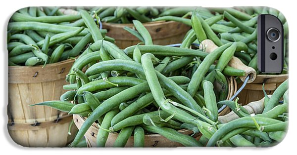 Farmers Market String Beans IPhone Case by Teri Virbickis