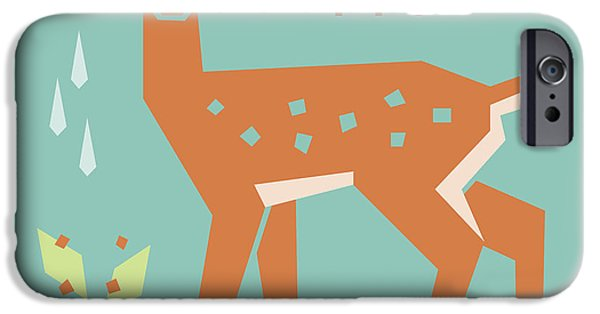 Fawn In The Meadow IPhone Case by Mitch Frey