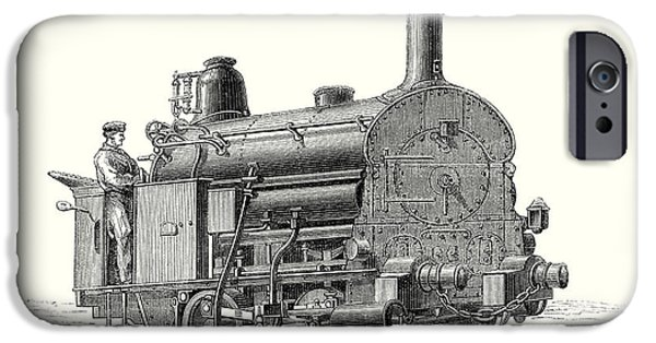 Fell's Locomotive For The Rail Central Railway IPhone Case by English School