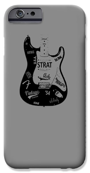 Fender Stratocaster 54 IPhone Case by Mark Rogan