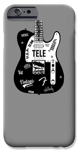 Fender Telecaster 64 IPhone Case by Mark Rogan